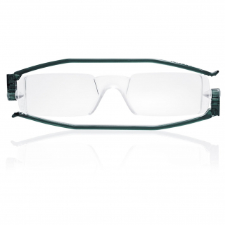 Nannini Italy Grey Reading Glasses - 1.0 Optic