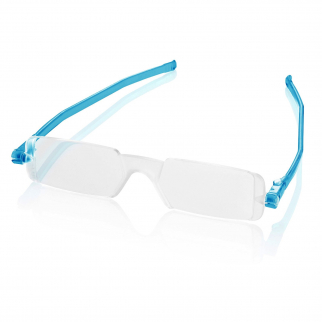 Reading Glasses Nannini Italy Unisex Ultra Thin Reader - Baby Blue 2.0
