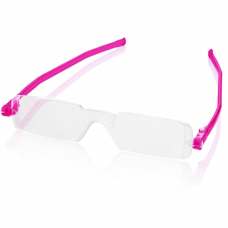 Reading Glasses Nannini Italy Unisex Ultra Thin Reader - Fuchsia 1.5