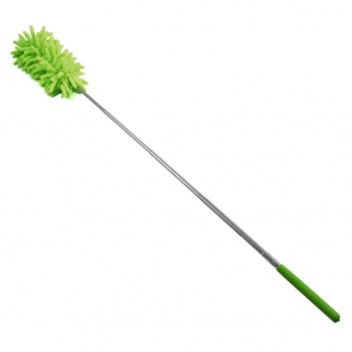 Extendable Flexible Feather Duster For Home And Office Cleaning - Green