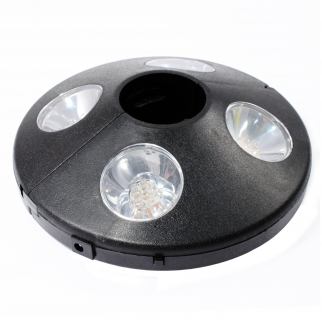 24 LED Patio Umbrella Light Wireless Cordless 8 Hours Off
