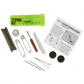 mcnett gear aid tactical sewing kit beginners sewing storage container emergency preparedness