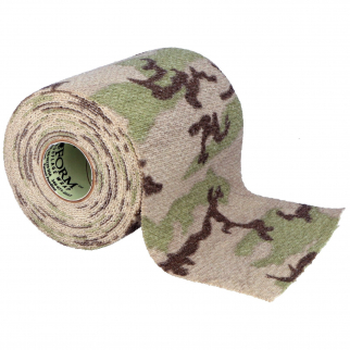 Gear Aid Camo Form Fabric Wrap Roll - Desert Generic 4 Inch