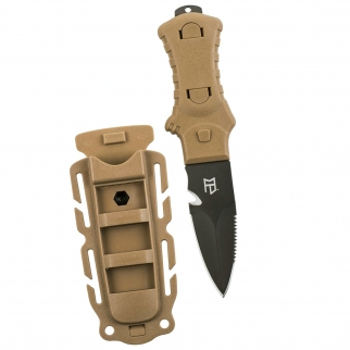 Gear Aid Tactical Stiletto Knife - Coyote Handle