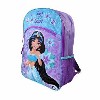 Disney Princess Jasmine Girls School Backpack 16 Inch Tall