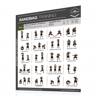 Productive Fitness Fighthrough Series Sandbag Poster - Laminated
