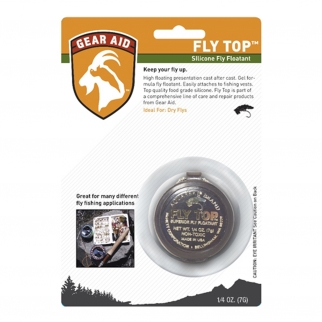 Gear Aid Fly Fishing Fly Top Floatant Silicone Gel .25oz