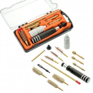 ASR Outdoor Pistol Cleaning Tool Kit .357 .40 .45 Caliber