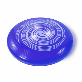 TychoTyke Kids Classic Flying Disc Light Up Toy - Blue