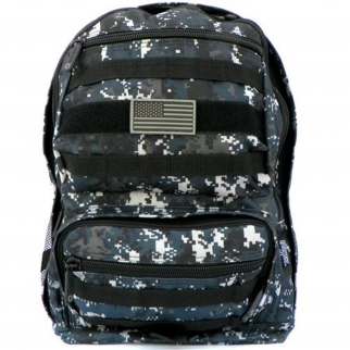 ASR Outdoor Large Backpack Camo Sand - Navy