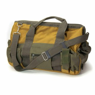 ToolTreaux Nylon Storage Tool Bag with Side Pockets - Green