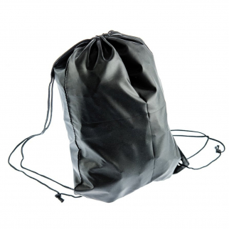 ASR Outdoor Multipurpose Drawstring Backpack with Stopper - Black