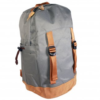 ASR Outdoor 18L Day Tripper Backpack for Outdoor Recreation Grey and Brown
