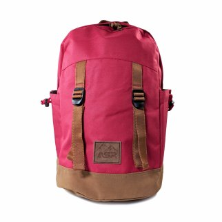 ASR Outdoor 18L Day Tripper Backpack for Outdoor Recreation Red and Brown