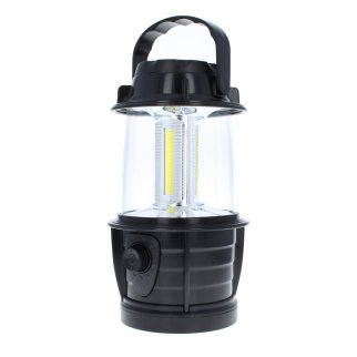 ASR Outdoor LED Battery Operated Hanging Mini Lantern Black