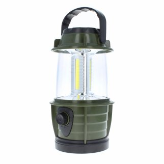 ASR Outdoor LED Battery Operated Hanging Mini Lantern Green