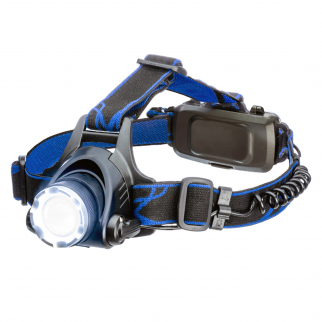 1000 Lumen Zoom Rechargeable Pivoting Headlamp