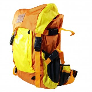 ASR Outdoor Weekender Day Packing Hiking Backpack - Orange