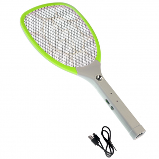 Handheld Micro USB Rechargeable Bug Zapper - Green