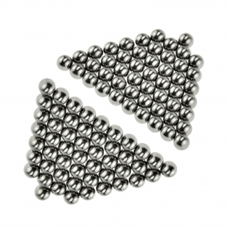 ASR Outdoor 6mm Sling Shot Ball Bearings Steel 100 Piece Set Angle