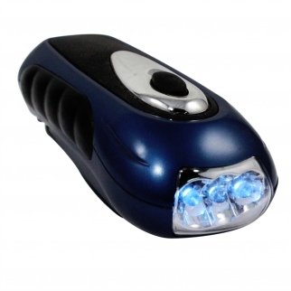 LED View Crank Emergency Flashlight