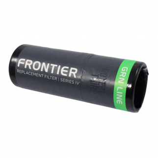 Aquamira Frontier Max Series IV Replacement Filter Green Line Bacteria Protection Up Close