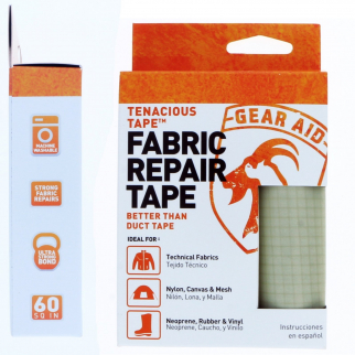 Gear Aid Tenacious Tape Ultra Strong Fabric Repair Outdoor Recreation - Platinum