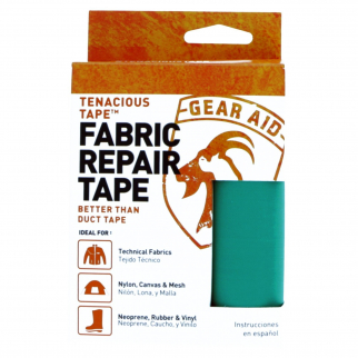 Gear Aid Tenacious Tape Fabric Repair Roll Strong for Outdoor Rec Teal