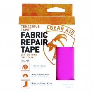 Gear Aid Tenacious Tape Fabric Repair Roll Strong for Outdoor Rec - Pink