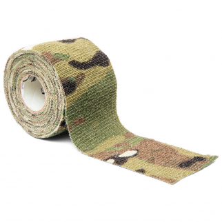 Camo Form Multicam Cling Wrap Reusable Heavy Duty Fabric Wrap