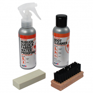 Gear Aid Revivex Nubuck and Suede Footware Wash and Waterproofing Kit