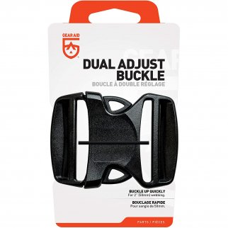 "GEAR AID Dual Adjust Replacement Buckle Kit, 2"", 6 Pack"