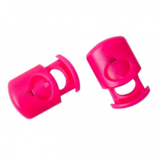 Gear Aid Power Cord Lock Clips Bungee Rope and Jacket - 6 Pack Pink 3/16 in