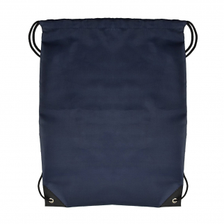 ASR Outdoor Polyester Drawstring Stopper Bag Backpack - Blue