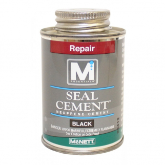 Wetsuit Drysuit Neoprene Seal Cement Waterproof Repair - 4 oz Black