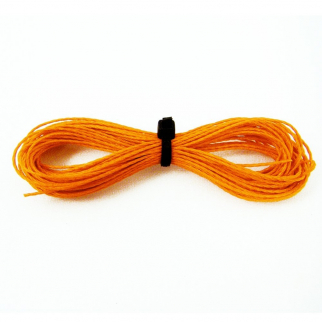 Kevlar 200lb Strength Hobby Sport Survival Paracord - 50ft Orange