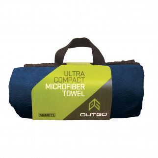 Microfiber Ultra Absorbent Quick Dry Gym Towel Outdoor - Navy Blue XL