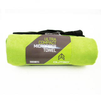 Gear Aid Microfiber Travel Towel Ultra Absorbent Compact XL (Green)