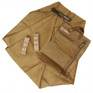 Tactical Ultra Absorbent Microfiber Towel for Compact Outdoor Rec - Coyote Large