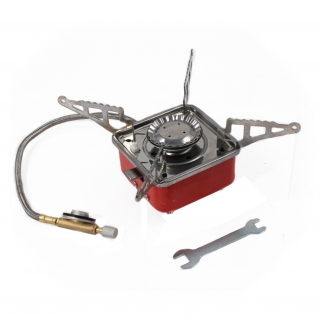 Travel Camping Stove with Stainless Steal Braided Line