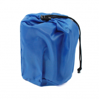 Universal Outdoor Inflatable Backpacker's Pillow 15 x 12 Inches Blue