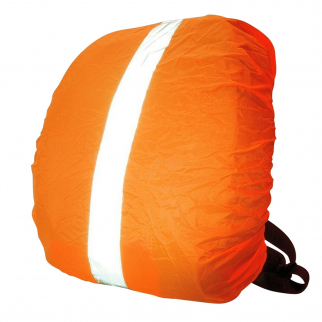 "ASR Outdoor Orange Waterproof Reflective Stripe Backpack Cover Fits 28"" Backpack"