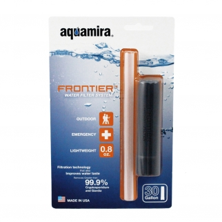 McNett Aquamira Frontier Emergency Water Filter for Travel and Backpacking