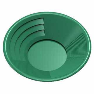 ASR Outdoor 8 Inch Green Gold Rush Gravity Trap Gold Pan