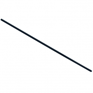 ASR Outdoor Graphite Stirring Rod for Metal Melting Angle View