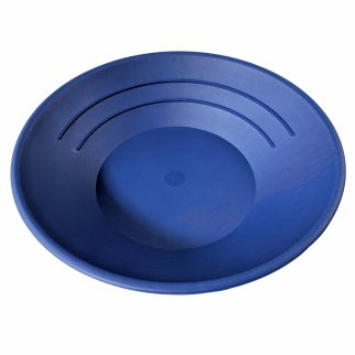 "Blue 10"" Gold Rush Gravity Trap Gold Pan"