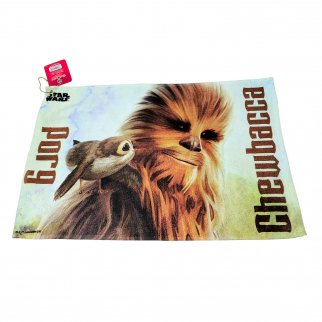 Star Wars Golf Towel Chewbacca and Porg