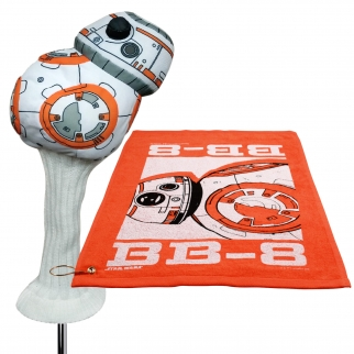 Star Wars BB8 460cc Golf Head Cover and Towel with Corner Grommet Set