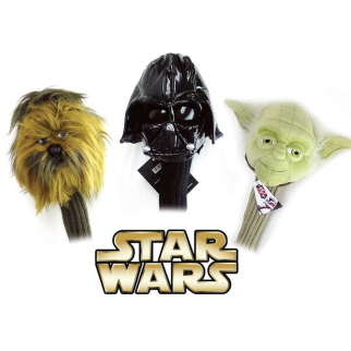 Golf Head Cover 3pc Star Wars 460cc Driver Wood Set Sporting Goods Headcover