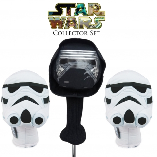 Star Wars Collectors Golf Head Cover Set - Kylo Ren and Stormtroopers
